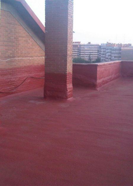 suelo rojo 1 Aislamientos Ayara