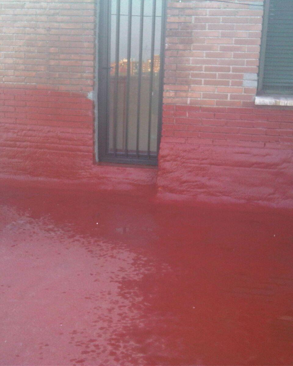 suelo rojo Aislamientos Ayara