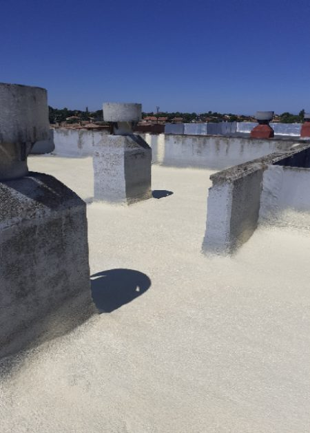 tejado blanco Aislamientos Ayara 1