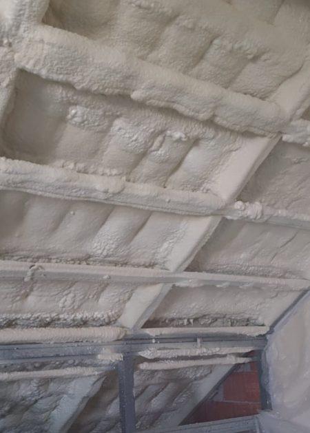 techo interior Aislamientos Ayara