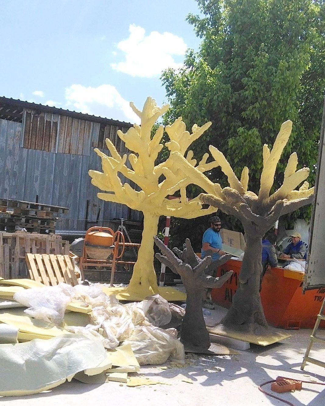 árboles Aislamientos Ayara